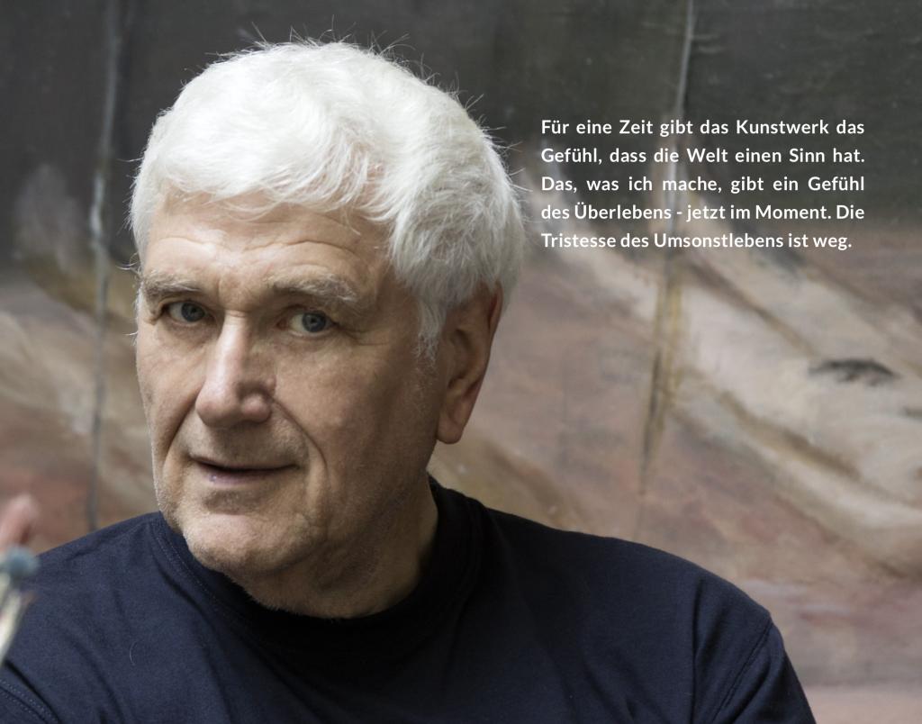 Virtuelle Ausstellung mit aktuellen Arbeiten von Klaus Fußmann